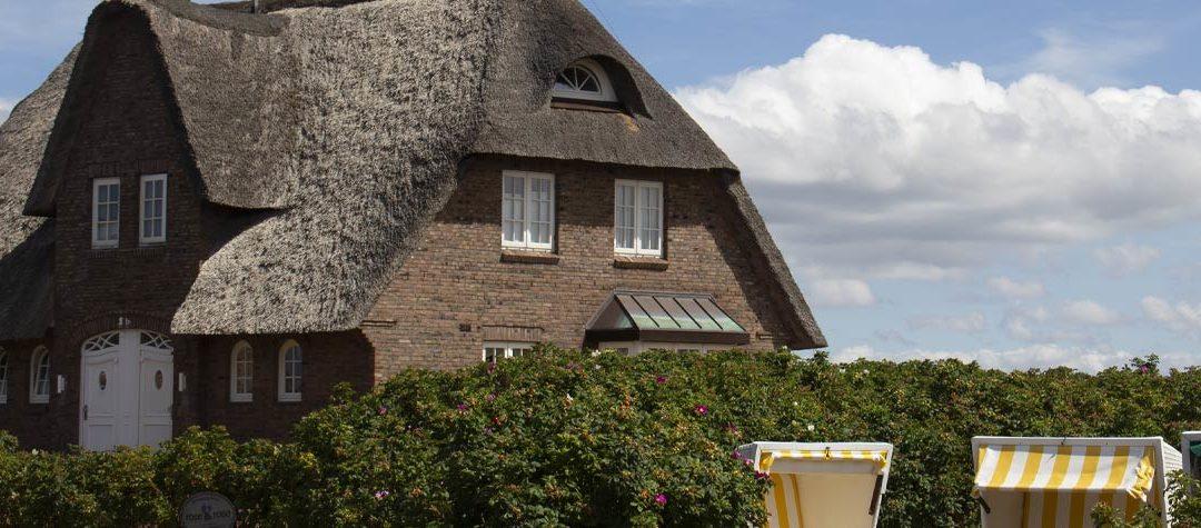 Schicke und traditionelle Dächer