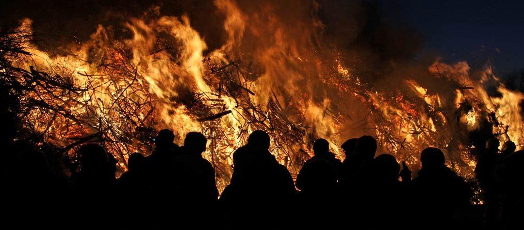 Wenn auf Sylt die Flammen lodern, …