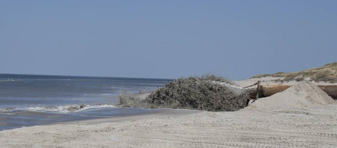 Warum eigentlich Sandvorspülungen?