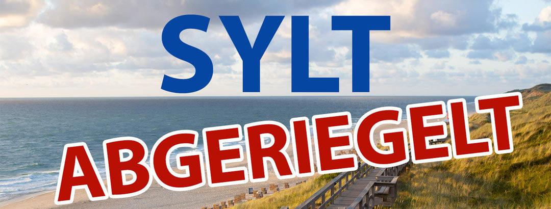 Sylt wird abgeriegelt